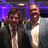 Mike and BC Education Minister Rob Fleming